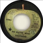 Click here for more info about 'Badfinger - No Matter What - 1st'