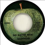 Click here for more info about 'Badfinger - No Matter What - Stereo label'
