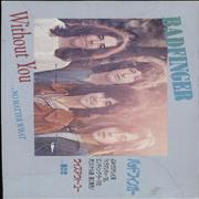 "Badfinger Without You Japan 3"" CD single Promo"
