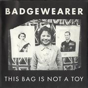 Click here for more info about 'Badgewearer - This Bag Is Not A Toy'