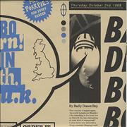 Click here for more info about 'Badly Drawn Boy - Born In The UK - Blue Packaging'