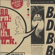 Click here for more info about 'Badly Drawn Boy - Born In The UK - Red Packaging'