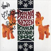 Click here for more info about 'Badly Drawn Boy - Donna And Blitzen - autographed'