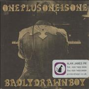 Click here for more info about 'Badly Drawn Boy - One Plus One Is One'