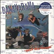 Click here for more info about 'Bananarama - Deep Sea Skiving - Blue Vinyl + CD - Sealed'