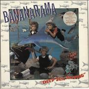 Click here for more info about 'Bananarama - Deep Sea Skiving - Stickered Sleeve + Merch insert'