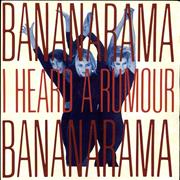 Click here for more info about 'Bananarama - I Heard A Rumour - Red title sleeve'