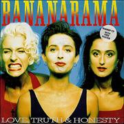 Click here for more info about 'Bananarama - Love Truth & Honesty - Poster Sleeve'