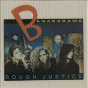 Click here for more info about 'Bananarama - Rough Justice - Lenticular Sleeve'