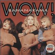Click here for more info about 'Bananarama - Wow! - Brit Award Stickered'