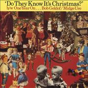 Click here for more info about 'Band Aid - Do They Know It's Christmas  - One Year On'