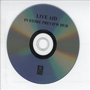 Click here for more info about 'Band Aid - Live Aid - In Store Preview'