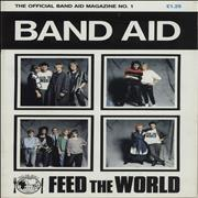 Click here for more info about 'The Official Band Aid Magazine No.1 + Poster Magazine'