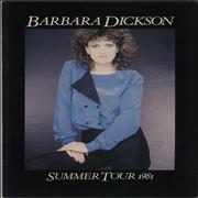 Click here for more info about 'Barbara Dickson - Summer Tour 1981'