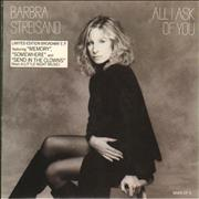 Click here for more info about 'Barbra Streisand - All I Ask Of You E.P'