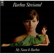 Barbra Streisand My Name Is Barbara UK vinyl LP