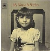 Barbra Streisand My Name Is Barbra - 1st UK vinyl LP