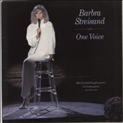 Click here for more info about 'Barbra Streisand - One Voice'