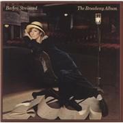 Barbra Streisand The Broadway Album UK vinyl LP