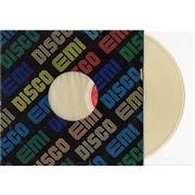 "Barbra Streisand The Main Event - Clear Vinyl Colombia 12"" vinyl Promo"