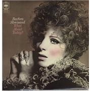 Barbra Streisand What About Today? - 1st UK vinyl LP