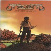 Click here for more info about 'Barclay James Harvest - Autumn Tour 1975 + Pair of Ticket Stubs'