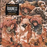 Click here for more info about 'Baroness - Gold & Grey - Red & Blue Vinyl - Sealed'