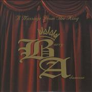 Click here for more info about 'Barry Adamson - A Message From The King'