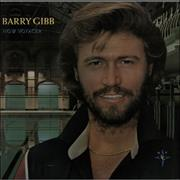 Barry Gibb Now Voyager - gold stamp UK vinyl LP