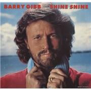 """Barry Gibb Shine USA 7"""" vinyl"""
