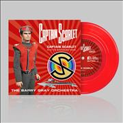 Click here for more info about ' - Captain Scarlet - Red Vinyl'