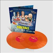 Barry Gray Fireball XL5 - Orange Vinyl UK 2-LP vinyl set