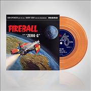 "Barry Gray Fireball XL5 - Orange Vinyl UK 7"" vinyl"
