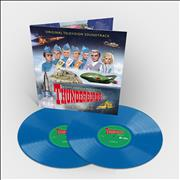 Barry Gray Thunderbirds - Sky Blue Vinyl UK 2-LP vinyl set