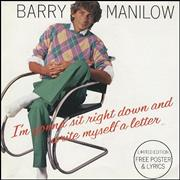 Click here for more info about 'Barry Manilow - I'm Gonna Sit Right Down.. Poster Sleeve'