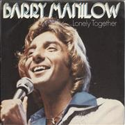 Click here for more info about 'Barry Manilow - Lonely Together - P/S'