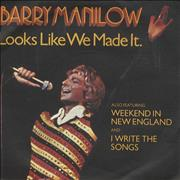 Click here for more info about 'Barry Manilow - Looks Like We Made It'