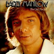 Click here for more info about 'Barry Manilow - This One's For You'