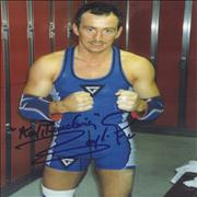 Click here for more info about 'Barry McGuigan - Autographed Publicity Photograph'