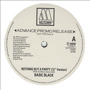 Click here for more info about 'Basic Black - Nothing But A Party'