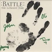 Click here for more info about 'Battle - The Longest Time - Autographed!'