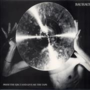 Click here for more info about 'Bauhaus - Press The Eject & Give Me The Tape'