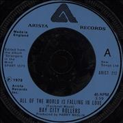 Click here for more info about 'Bay City Rollers - All Of The World Is Falling In Love'