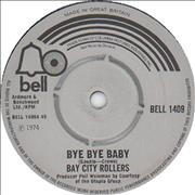 Click here for more info about 'Bay City Rollers - Bye Bye Baby'
