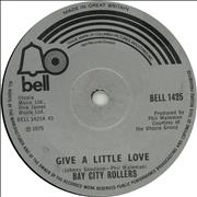 Click here for more info about 'Bay City Rollers - Give A Little Love - Solid'