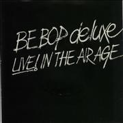 "Be Bop Deluxe Live In The Air Age EP UK 7"" vinyl Promo"