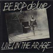 Be Bop Deluxe Live! In The Air Age UK vinyl LP