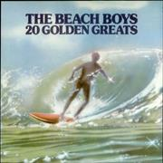 Beach Boys 20 Golden Greats - Barcoded UK vinyl LP