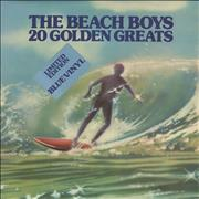Click here for more info about 'The Beach Boys - 20 Golden Greats - Blue Vinyl'