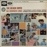 Beach Boys All Summer Long UK vinyl LP